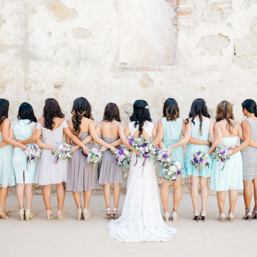 4 Ways To Wear Mismatched Bridesmaid Dresses