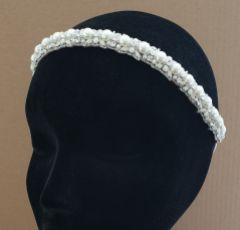 Eliza Jane Howell Ruth Pearl and Crystal Embellished Headpiece