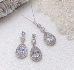 Ivory and Co Cotton Club Statement Bridal Jewellery Set