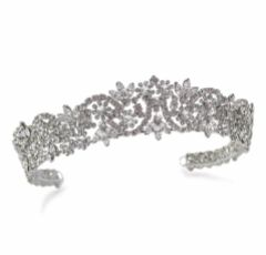 Ivory and Co Octavia Vintage Inspired Crystal Bridal Tiara