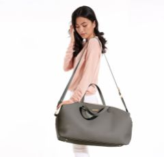 Katie Loxton Charcoal Weekend Holdall Duffle Bag