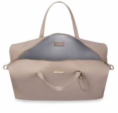 Katie Loxton Taupe Weekend Holdall Duffle Bag