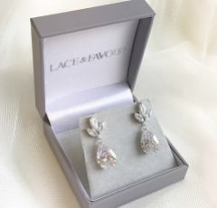Montpellier Cubic Zirconia Drop Earrings