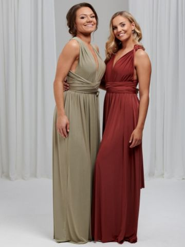 Lily Rose Sage Green Multiway Bridesmaid Dress