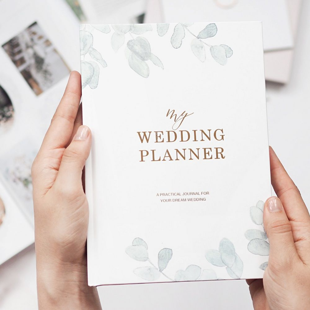 Eucalyptus Luxury Wedding Planner Book