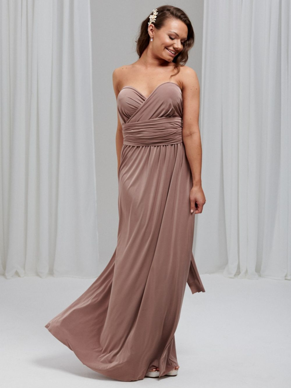 Lily Rose Desert Taupe Multiway Bridesmaid Dress