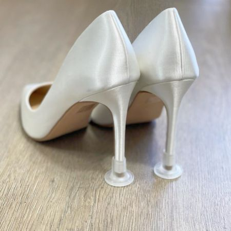 Clean Heels Plain Clear Heel Stoppers (Small)