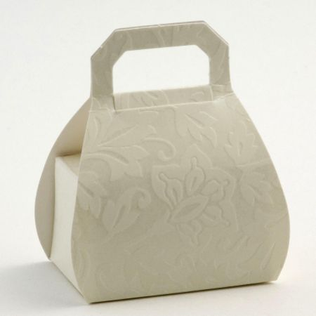 Diamante Handbag Favour Box - Pack of 10
