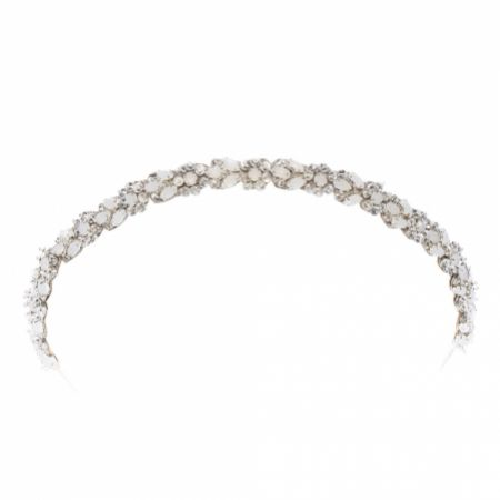 Eliza Jane Howell Almeida Vintage Inspired Crystal Wedding Headband