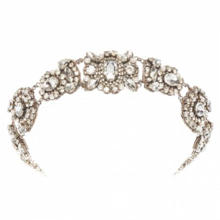 Eliza Jane Howell Blanche Vintage Crystal Bridal Headpiece
