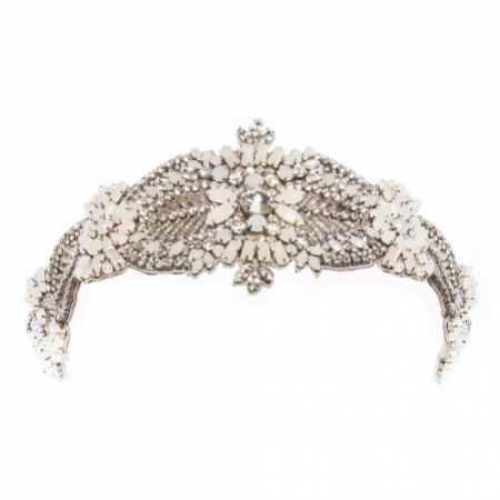 Eliza Jane Howell Lucrezia Vintage Crystal Embellished Bridal Headpiece
