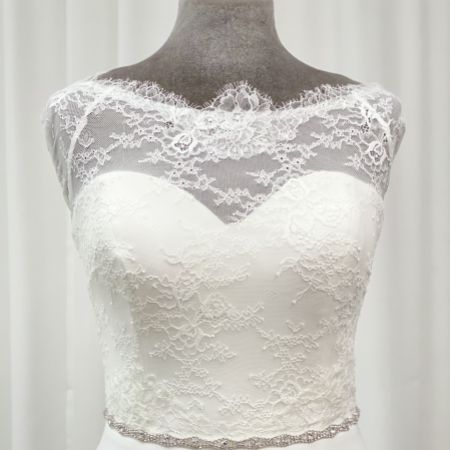 Harper Narrow Diamante Chain Bridal Belt
