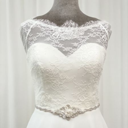 Harper Rose Beaded and Diamante Bridal Belt