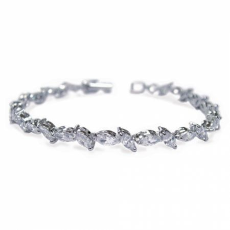 Ivory and Co Andorra Cubic Zirconia Wedding Bracelet