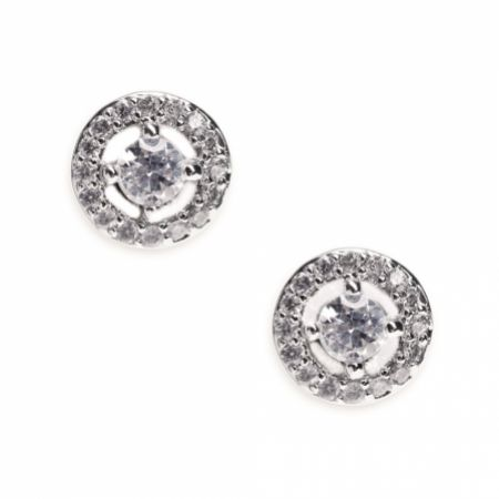 Ivory and Co Balmoral Crystal Stud Earrings