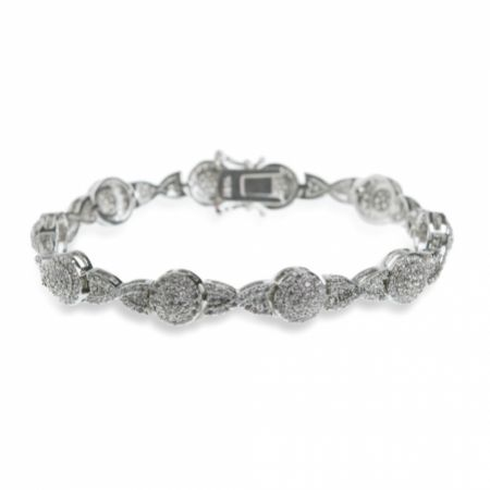 Ivory and Co Baltimore Crystal Embellished Wedding Bracelet