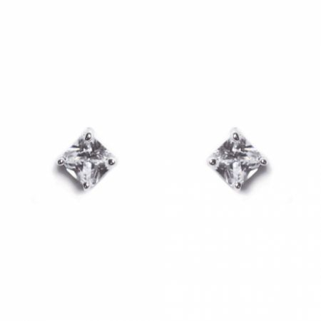 Ivory and Co Illusion Cubic Zirconia Stud Earrings