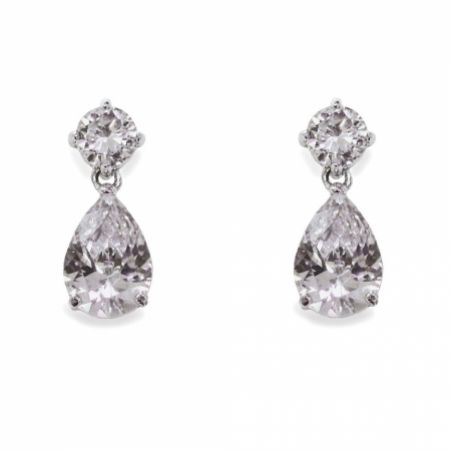Ivory and Co Imperial Cubic Zirconia Wedding Earrings