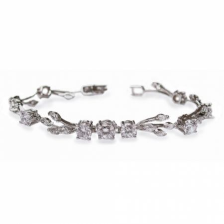 Ivory and Co Mayfair Vintage Inspired Crystal Wedding Bracelet