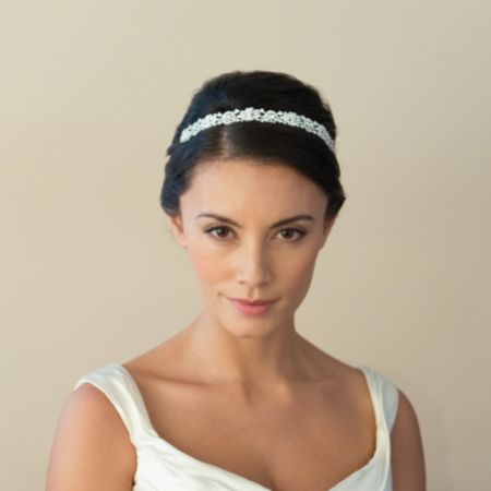 Ivory and Co Natalia Crystal Embellished Bridal Headband