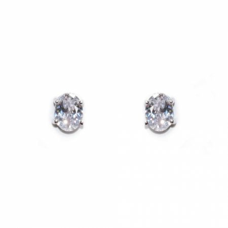 Ivory and Co Rapture Cubic Zirconia Stud Earrings