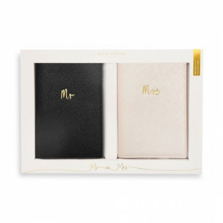 Katie Loxton 'Mr' and 'Mrs' Bridal Passport Gift Set