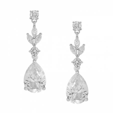 Lilibeth Cubic Zirconia Drop Earrings