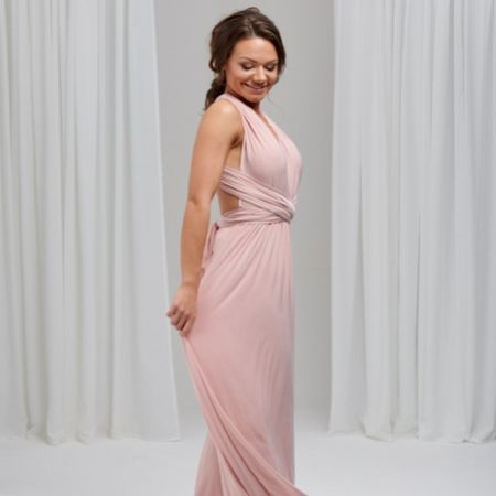 Lily Rose Chalk Pink Multiway Bridesmaid Dress