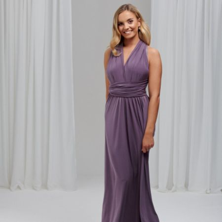 Lily Rose Mauve Multiway Bridesmaid Dress