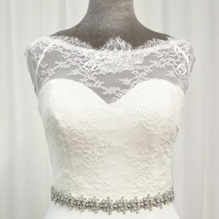 Perfect Bridal Brooke Opal Crystal Wedding Dress Belt