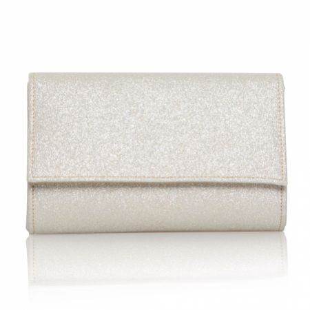 Perfect Bridal Lola Gold Shimmer Clutch Bag