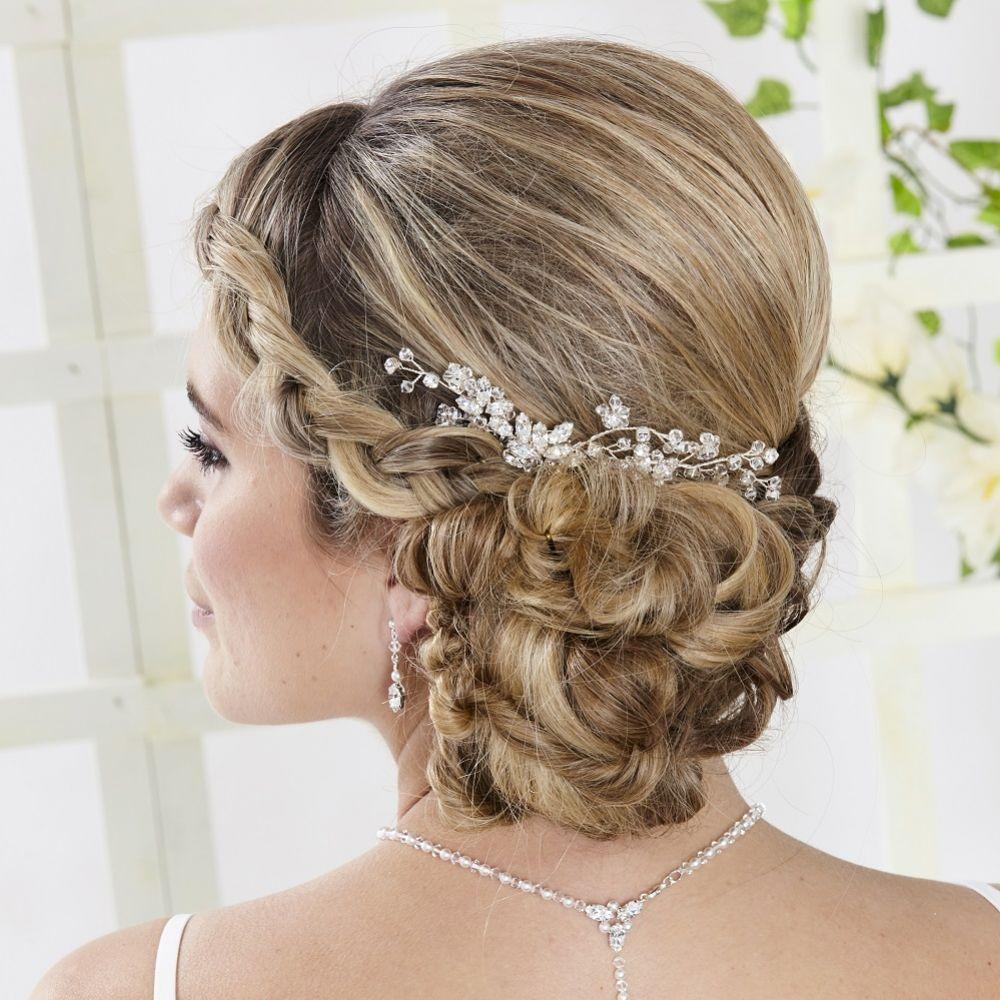 Arianna Star Crossed Vintage Crystal Bridal Hair Comb