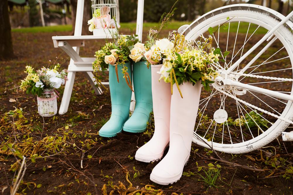 Eco Friendly Wedding Decor