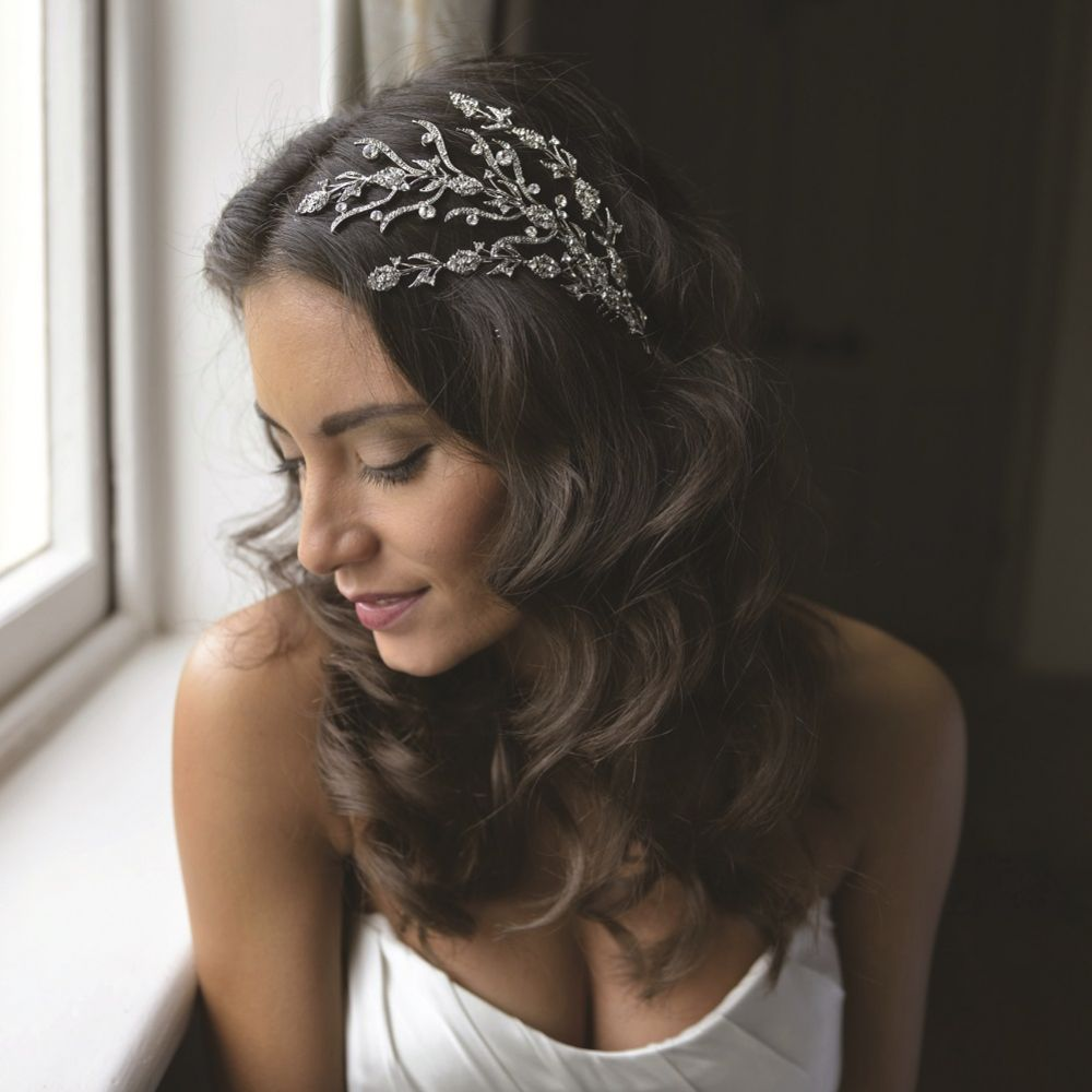 Ivory and Co Lucia Floral Vine Bridal Hair Comb