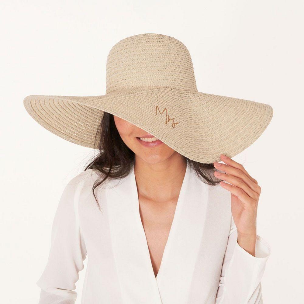 Katie Loxton Straw Honeymoon Hat