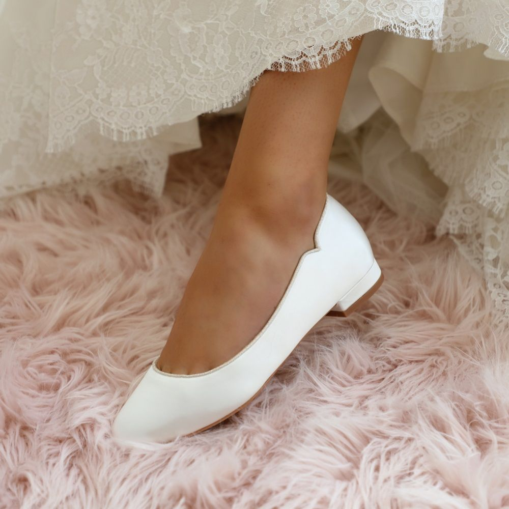 Perfect Bridal Jodie Dyeable Flats