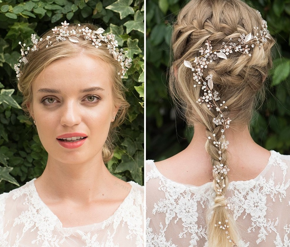 cinnamon-rose-gold-wedding-hair-vine