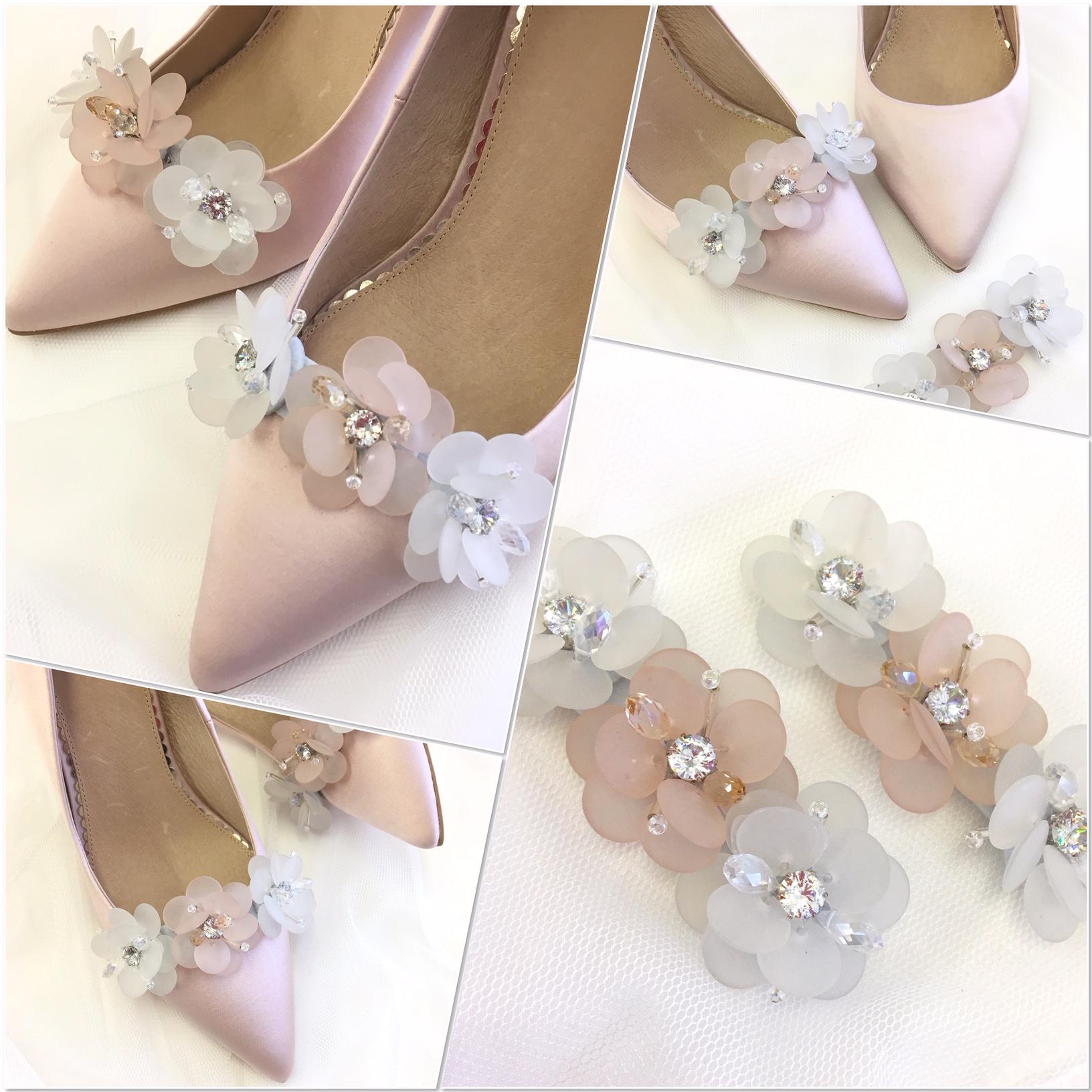 Damson shoe clips