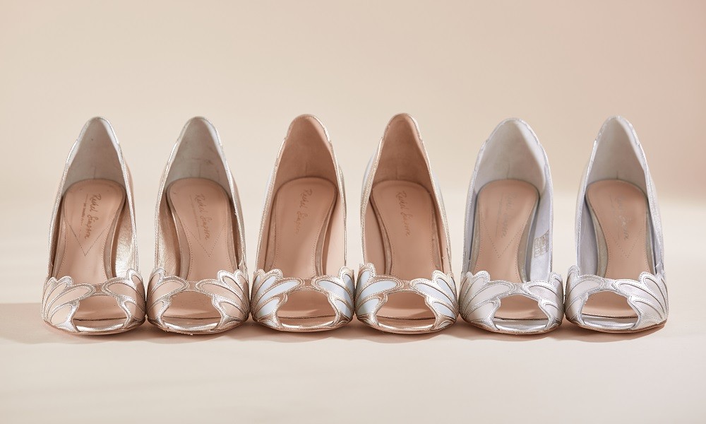 Isabelle Art Deco Peep Toes