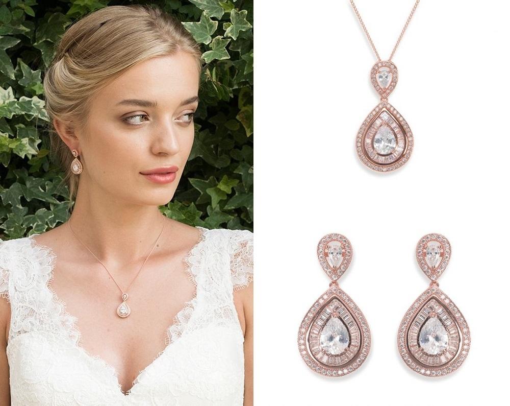 Montgomery Rose Gold Jewellery Set