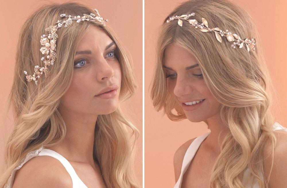 Rose Gold Hair Vines