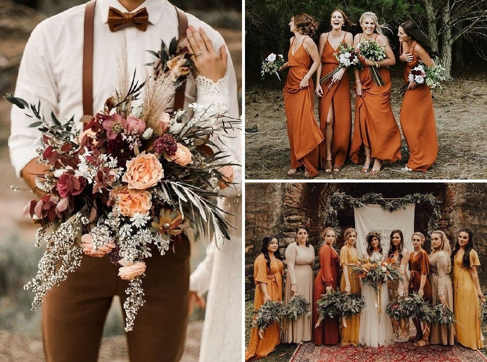 autumn bridesmaid dresses