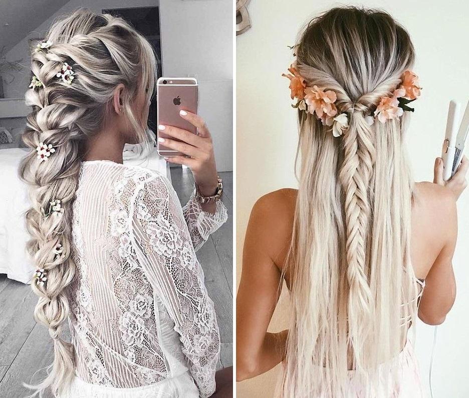 bohemian-wedding-hair-with-fresh-flowers