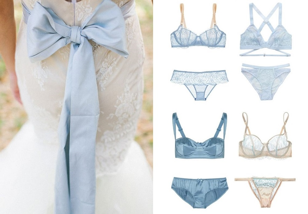 cute-blue-bow-and-lingerie
