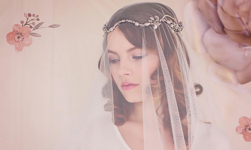 gadegaard design celestia weding halo headpiece and wedding veil