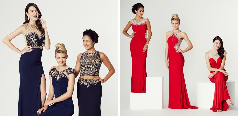 navy-and-red-prom-dresses