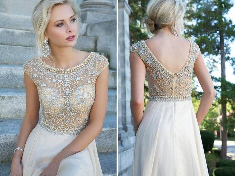 neutral-prom-dresses