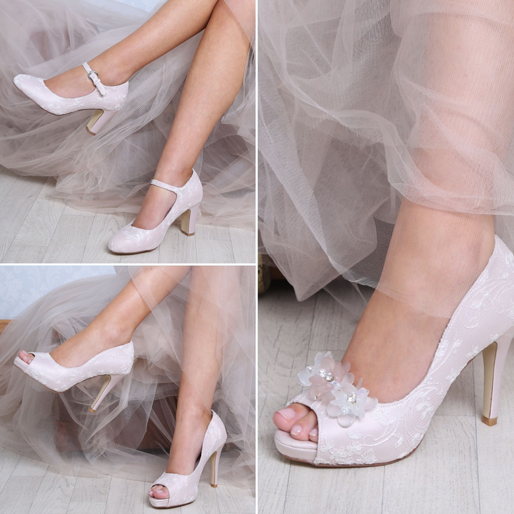 pink-perfect-bridal-shoes