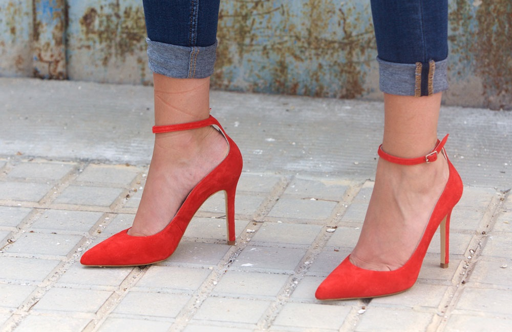 red-suede-shoes-with-ankle-strap